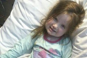 Evey Robinson - kept alive thanks to the BHF research. EMN-190521-101110001
