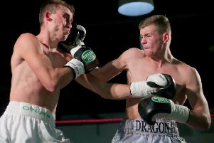 Joe Fitzpatrick (right) is ready to  for this weekend's clash in Belfast