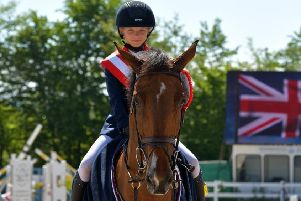 Tabitha claims international victory in Austria. Picture: Fotoagentur-Dill EMN-190524-163240002