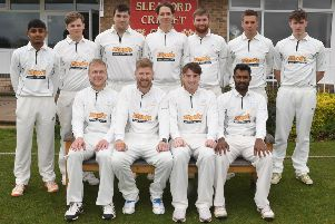 Sleaford CC First XI have made a perfect start to the season with five wins out of five. Picture: David Dawson EMN-190527-152556002