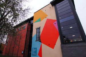 The National Centre for Craft and Design (formerly The Hub) in Sleaford.
