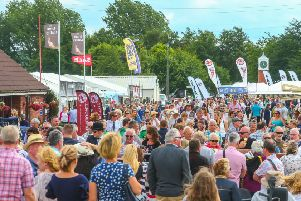 Crowds at last year's Lincolnshire Show.