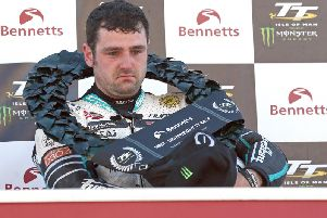 Michael Dunlop won his 19th race at the Isle of Man TT this month with victory in the Lightweight event.