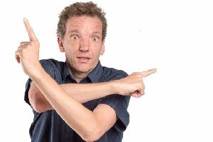 Henning Wehn. Picture by Adam Lynk