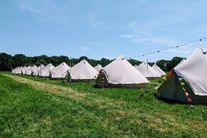 Co Antrim-based pop up accommodation provider Yippee Tents will be providing around 45 - 50 luxury tents at a site close to Royal Portrush.