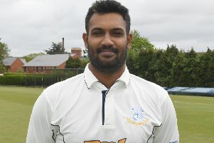 Sleaford's overseas pro Kapugedera took four wickets and was unlucky to fall for 40 in reply EMN-190807-104826002