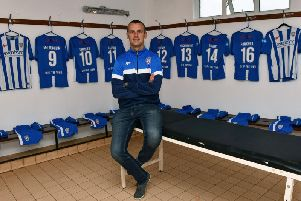 Oran Kearney has taken charge of Coleraine for a second spell