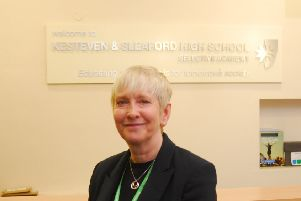 Cate Tipper - stepping down as assistant headteacher at Kesteven and Sleaford High School. EMN-190715-095137001