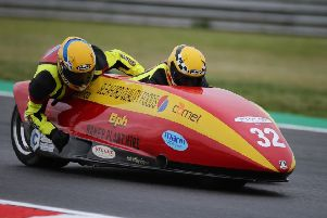 Horspole and O'Connell are 15th in the British Championship EMN-190725-144257002