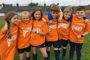 There is cause for celebration at Caythorpe Primary School in the School Games Mark scheme.