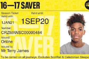 New 16-17 Saver offering discounted rail travel for young people