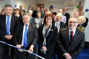 The new Citizens Advice centre in Shoreham was officially opened in 2016 by East Worthing and Shoreham MP Tim Loughton. Picture: Kate Shemilt ks1600034-1