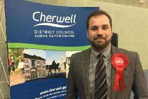 Cllr Sean Woodcock, who has asked for detail of a Brexit payment made to Cherwell District Council