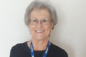Charity worker Elaine Rogers of Ruskington, skydiving for her 70th birthday. EMN-190209-205034001