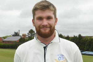 Angus Youles claimed three wickets in the semi-final defeat. Picture: David Dawson EMN-190916-170748002