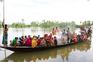 Plan International Bangladesh is responding to devastating monsoon floods in the north and southeast of Bangladesh. Lincolnshire Freemasons have helped donate �20,000 to the relief effort. EMN-190917-165559001