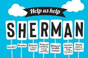 SHERMAN highlights seven key factors that may make people at greater risk of having a fire, or being less likely to react to a fire. EMN-190110-172606001