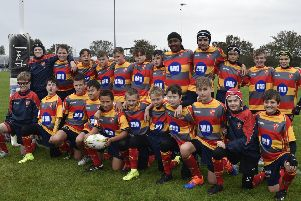 Peterborough Rugby Club's successful junior team. Photo: David Lowndes.
