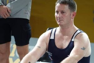 David competed at rowing in the 2018 Invictus Games EMN-191028-165339002