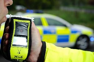Drink drive campaign.