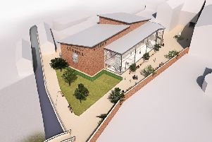 A computer generated impression of the proposed design of the new cinema for Sleaford. EMN-191019-155615001