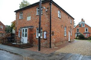 Heckington Community Rooms, which contain the parish council chambers, the Local Access POint for NKDC and the community library. EMN-191029-093506001