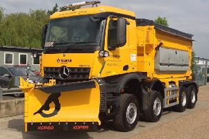 Gritters will be out in force this evening (Friday) EMN-190811-103834001