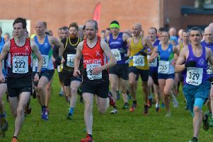 Action from Saturday's North West Cross Country Championships in Gransha.