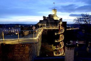 Experience the magic of Lincoln Castle's Christmas Emporium . EMN-191212-162007001
