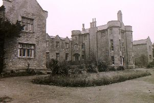 Slea View, the former workhouse, off Eastgate in Sleaford, photographed in 1970. EMN-200301-094932001