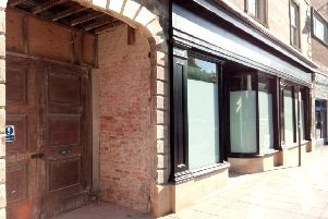 The completed shop front renovation at 17 Market Place in Sleaford by J Hodgson & Sons. EMN-200114-134819001