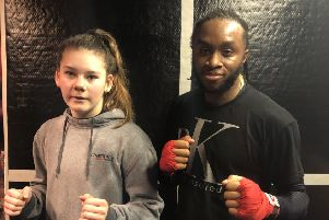 Naomi Blankley and Tyree Stevens have big ambitions in their sport EMN-200121-180248002