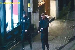 Police would like to speak with these men in connection with the attack.