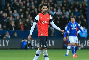 A frustrated Izzy Brown is taken off on Saturday