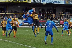 Jack Edwards clears the lines for Brakes. Pictures: Sally Ellis