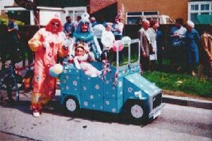 Newhaven Pram Race in its heyday. Picture by Ivor Gillett