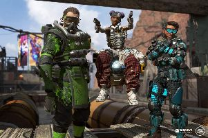 Apex Legends has just been released this week. Picture: Respawn Entertainment/ EA