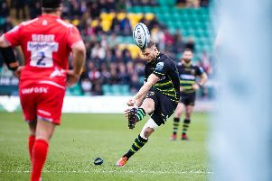 Dan Biggar was forced off against Sale (picture: Kirsty Edmonds)