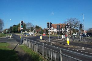 Polegate crossroads traffic lights have been replaced