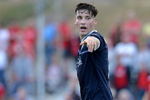 Ruben Sammut in action for Falkirk(Photo by Mark Runnacles/Getty Images)