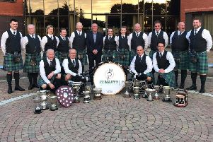 St Mary's Pipe Band Derrytrasna