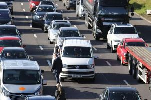 Major hold-ups on roads around the county revealed