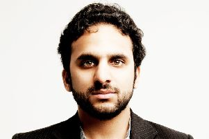 Nish Kumar at the White Rock Theatre