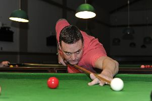 Mike Talmondt. Picture Ian Hargreaves (181125-1_snooker)