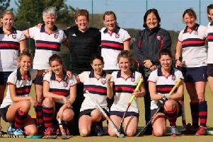 The BHHHC ladies' first team topped their division after a 4-1 win on Saturday.