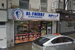 Al Fairoz Kebabish was visited by the Home Office in late 2017.