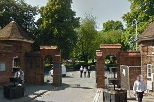 The entrance to Boston's Central Park.