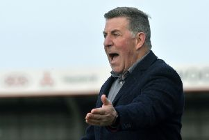 Eastbourne Borough V Chelmsford - Borough boss Mark McGhee (Photo by Jon Rigby) SUS-191103-113655008