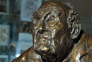 A bust of Henry Allingham