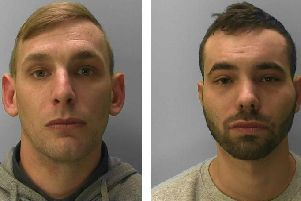 Wood (left) and Akehurst were jailed for a total of almost 30 years. Pictures; NCA